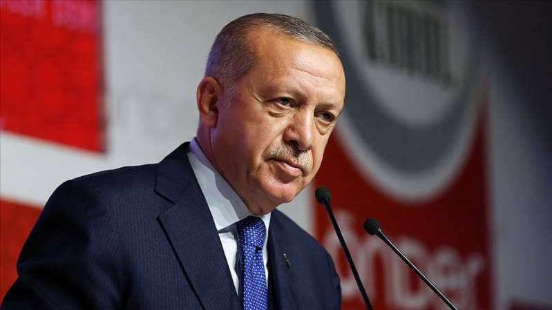 Erdoğan'dan belediye çalışanlarına: Sizi memuriyetten mi atacaklar?