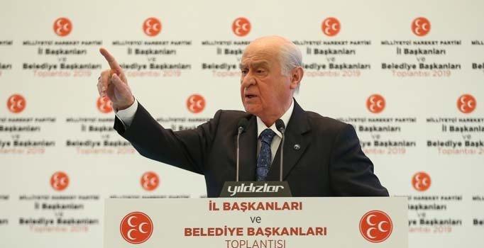 Bahçeli'den İstanbul çıkışı: Seçim tekrarı beka meselesidir...