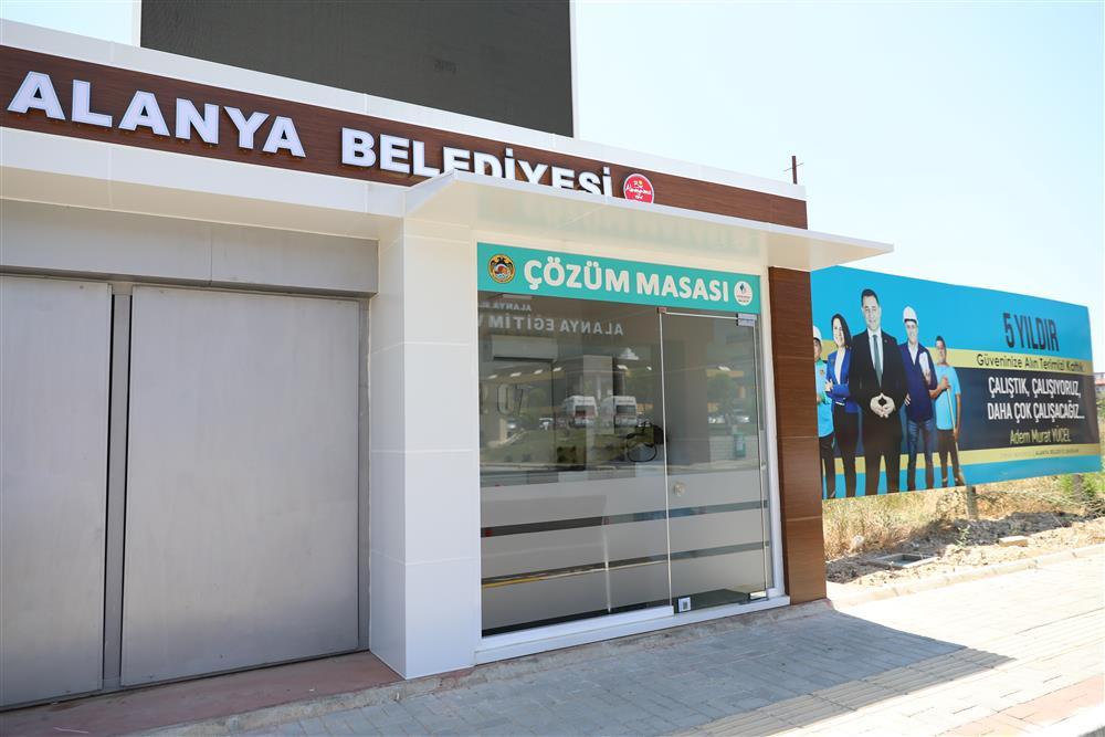 ÇÖZÜM MASASI'NIN YENİ OFİSİ HİZMETE GİRDİ...