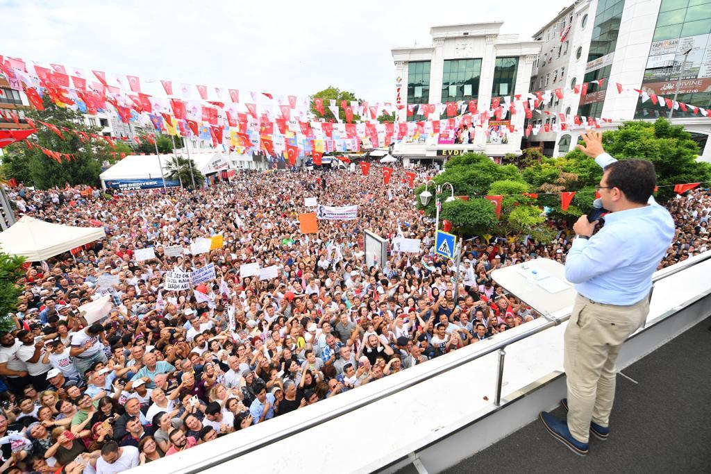 Ekrem İmamoğlu'ndan Cumhurbaşkanı Erdoğan'a:  Milletin iradesiyle nerelere gelindiğini en iyi siz bilirsiniz...!