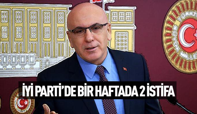 İYİ PARTİDEN BİR VEKİL DAHA İSTİFA ETTİ...