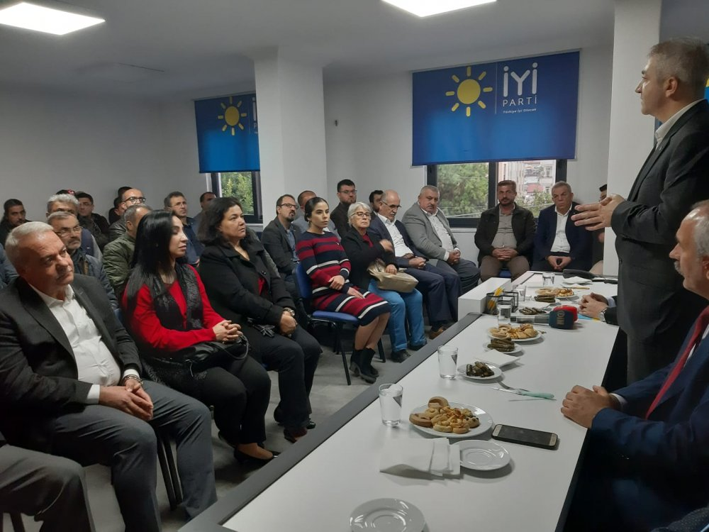 İYİ PARTİ ANTALYA İL BAŞKANI ALANYA'DAYDI...