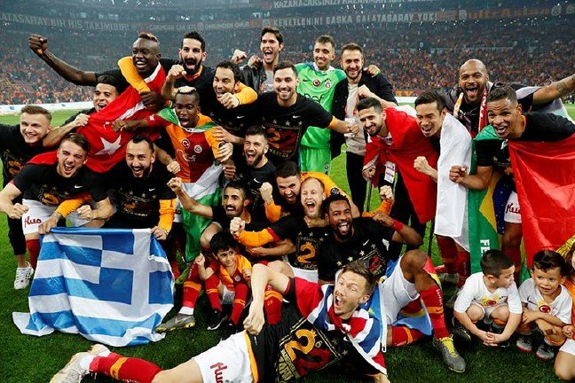 Süper Lig'de Galatasaray şampiyon!
