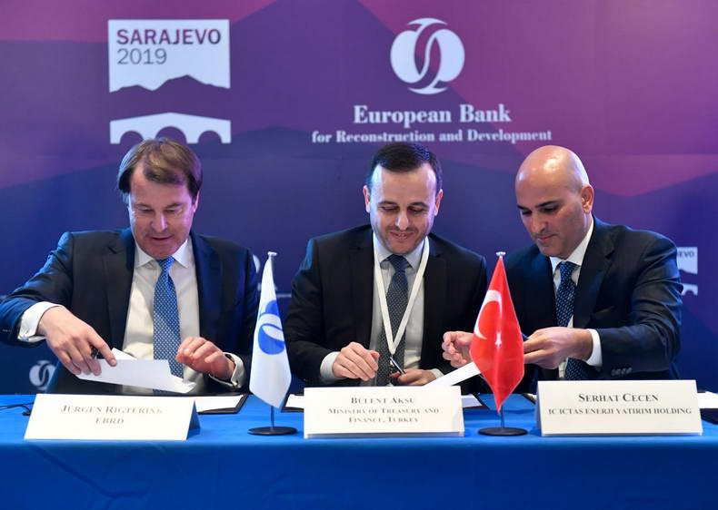 IC İçtaş Enerji'ye EBRD'den 100 milyon dolarlık yatırım
