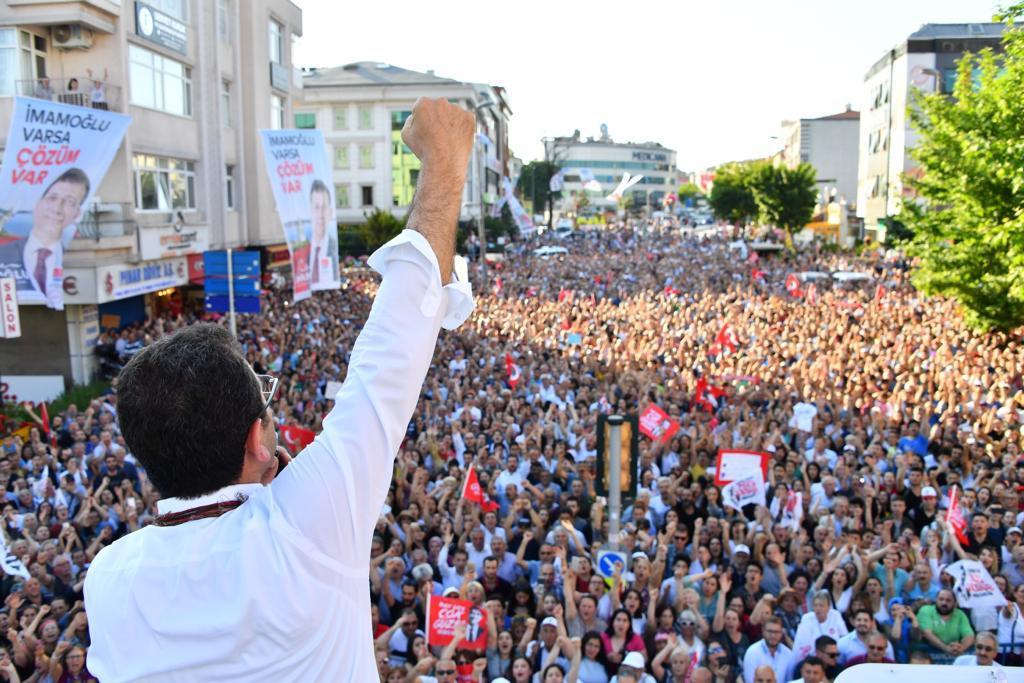İmamoğlu: Bizim İstanbul'da 16 milyon kadromuz var...