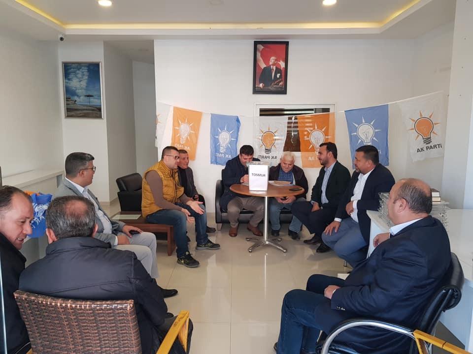 ALANYA AK PARTİ'DE DELEGE SEÇİMLERİ BAŞLADI...