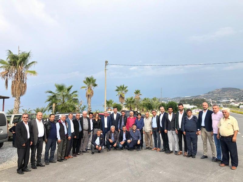 Alanya AK Parti yöneticileri, Mahalle başkanları ile bir araya geldi......