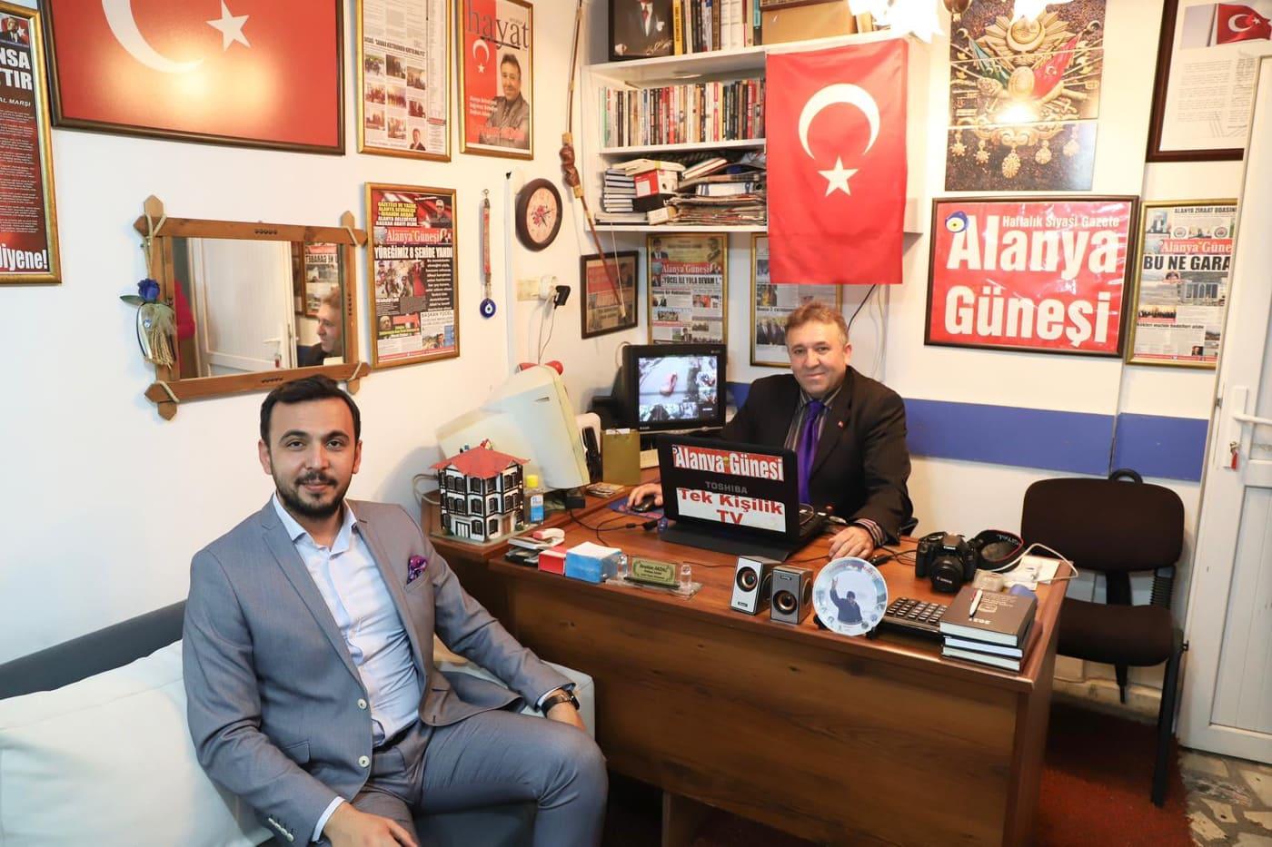 AK PARTİ'DEN ALANYA GÜNEŞİ'NE ZİYARET...