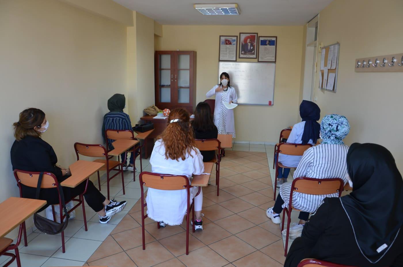Alanya ATASEM'DE kurslar başladı...