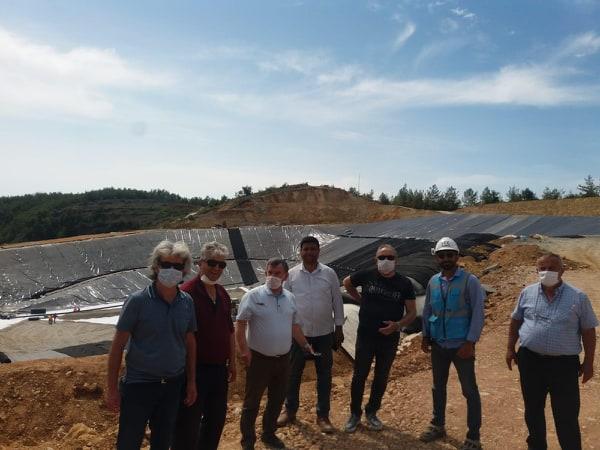 CHP Alanya İlçe Başkanlığı'ndan Katı Atık değerlendirme tesisinde inceleme...