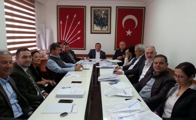 ALANYA CHP'NİN GÜNDEMİ DEMAŞ VE 15 TEMMUZ DU...
