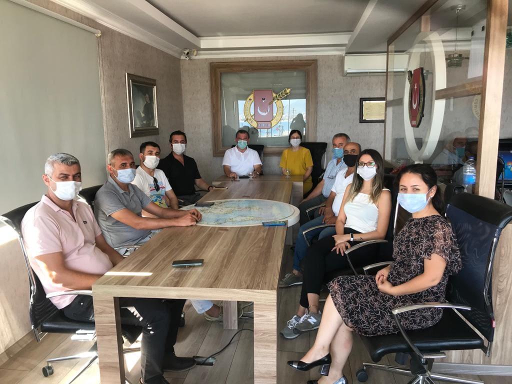 CHP Alanya İlçe Örgütünden AGC'ye Ziyaret...
