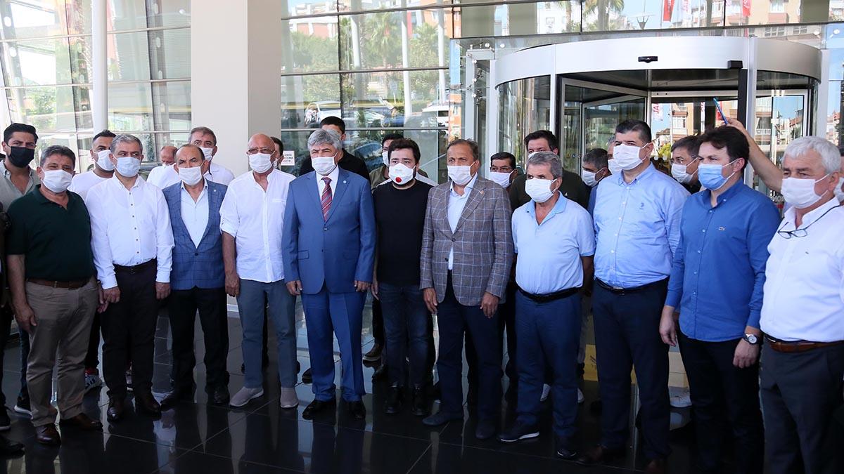 CHP VE İYİ PARTİ GENEL BAŞKAN YARDIMCILARI BAŞKAN BÖCEK'İ ZİYARET ETTİ...