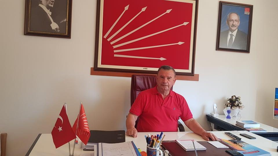 CHP ALANYA İLÇE BAŞKANI DA TELEFERİĞE İTİRAZ ETTİ...