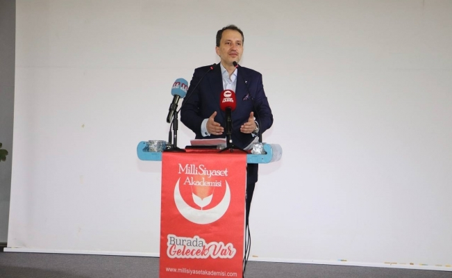 Fatih Erbakan Alanya'da...