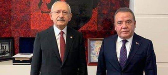 BAŞKAN MUHİTTİN BÖCEK, KILIÇDAROĞLU'NU ZİYARET ETTİ...
