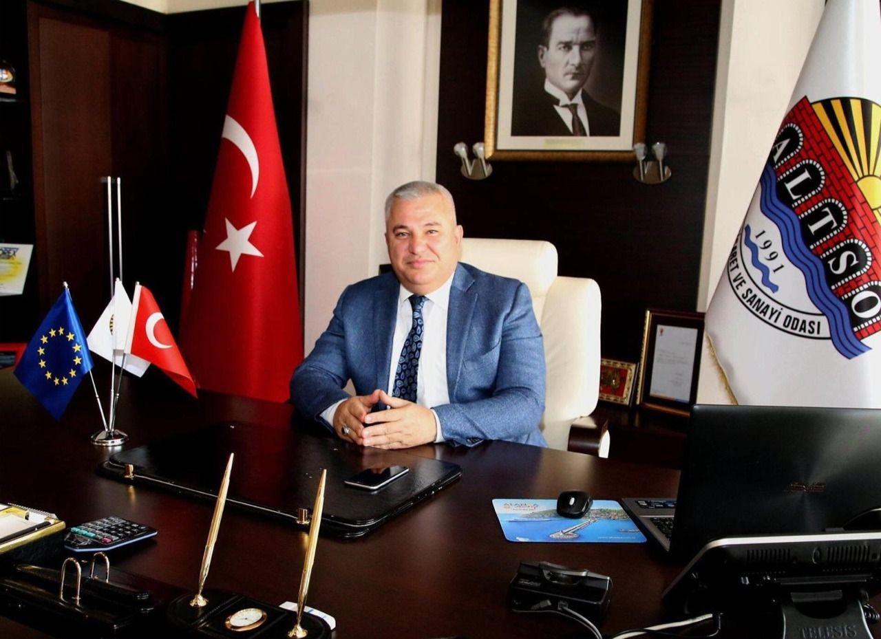ŞAHİN'DEN ALTSO ÜYELERİNE MÜJDE...