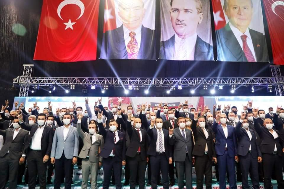 MHP ALANYA KONGRESİ COŞKU İLE TAMAMLANDI...