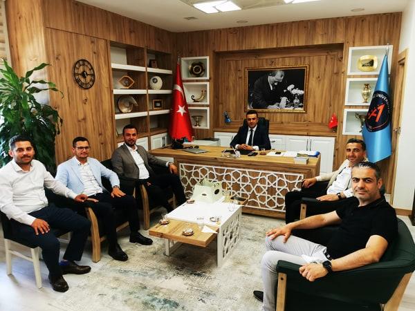 Alanya MÜSİAD'DAN Çalışkan'a Tebrik Ziyareti...