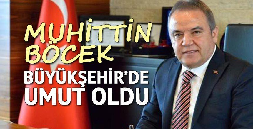 HELAL OLSUN SANA BAŞKAN MUHİTTİN BÖCEK...