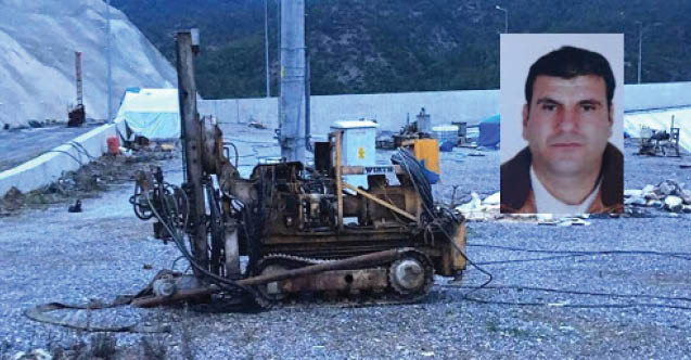 Gazipaşa'da sondaj makinesine sıkışan işçi hayatını kaybetti...