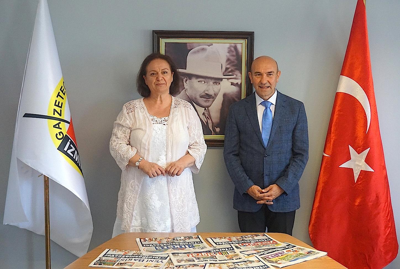 TÜRKİYE'YE ÖRNEK MODEL,YEREL BASINA SOYER DESTEĞİ...