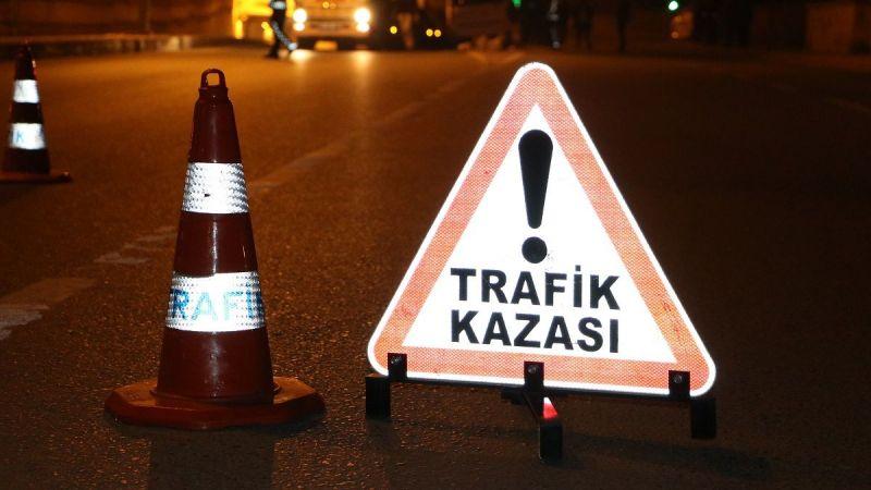 YİNE MOTOR KAZASI, 1 ÖLÜ 1 YARALI...