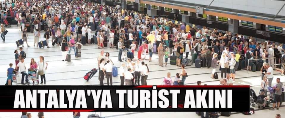 Antalya da 96 bin turistle tüm zamanların rekoru kırıldı...