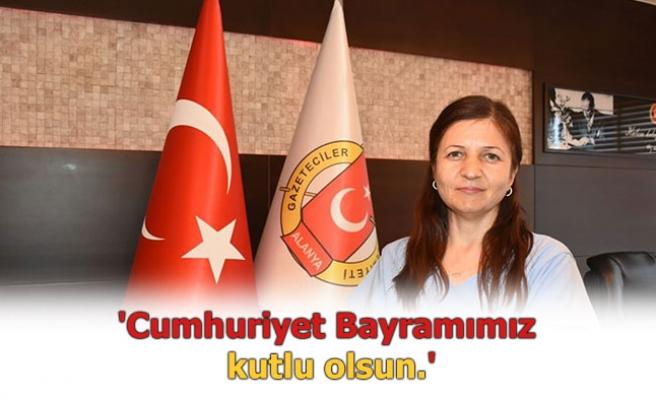 AGC Başkanı Gaye Coşkun'dan 29 Ekim açıklaması...
