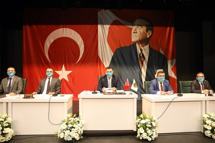ALANYA BELEDİYESİ  2021 YILININ İLK MECLİS TOPLANTISINI GERÇEKLEŞTİ...