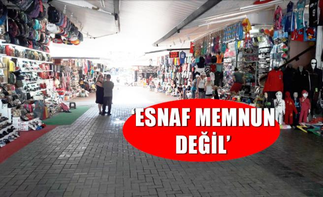 ESNAF BAŞKANLARI TURİZM DEKİ KISIR DÖNGÜYE DİKKAT ÇEKTİ...
