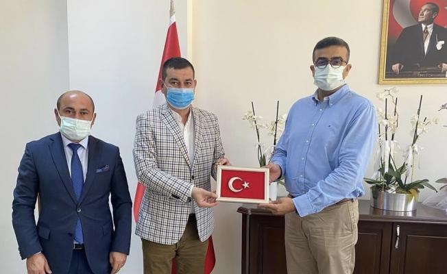 Türkdoğan ve Uysal'dan 'hayırlı olsun' ziyareti...
