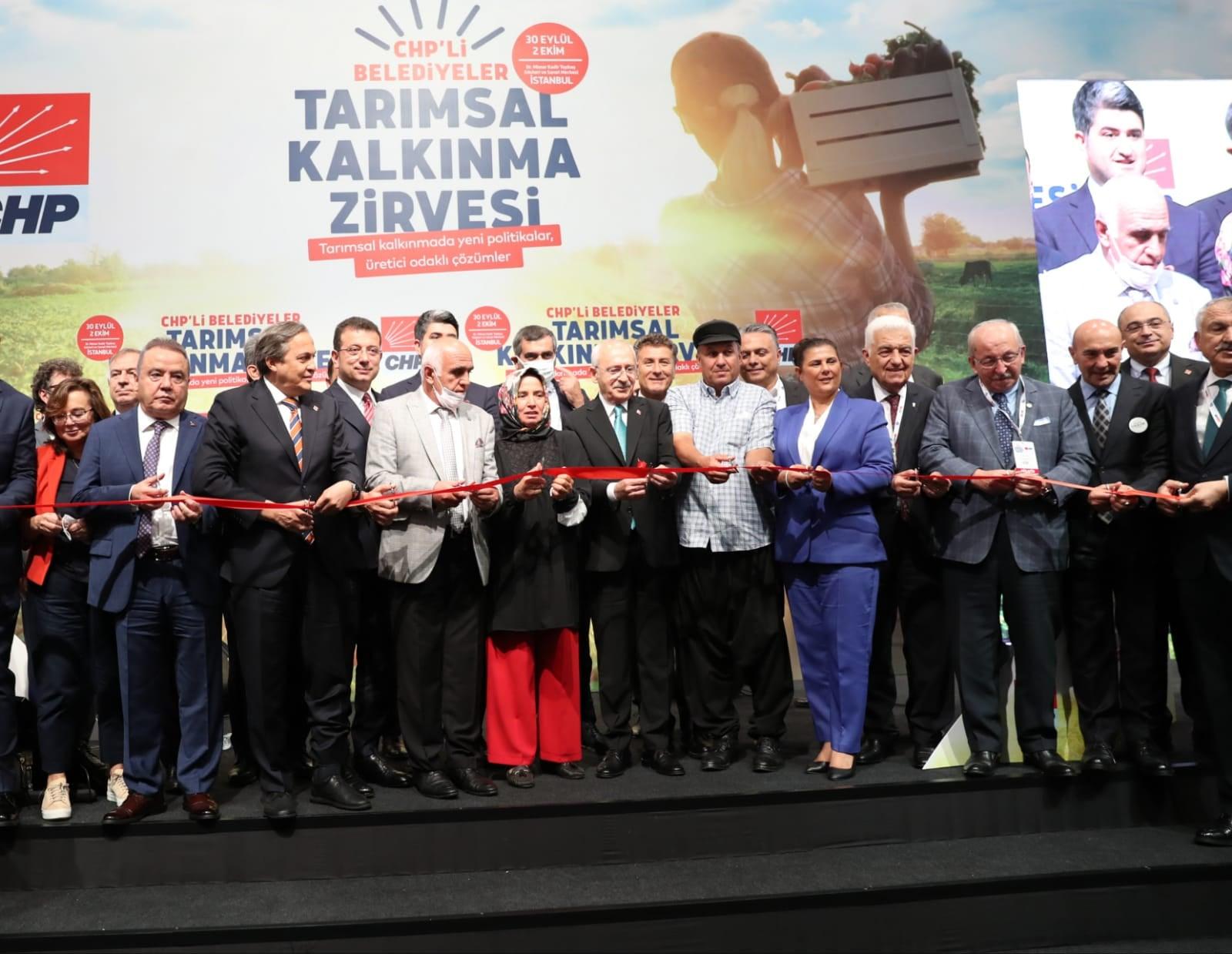 Tarımsal Kalkınma Zirvesi İstanbul'da başladı...