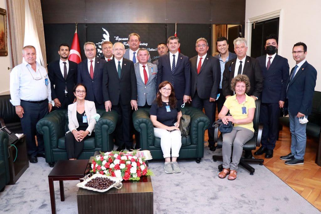 CHP Alanya Ekibi Kılıçdaroğlu ile Buluştu...