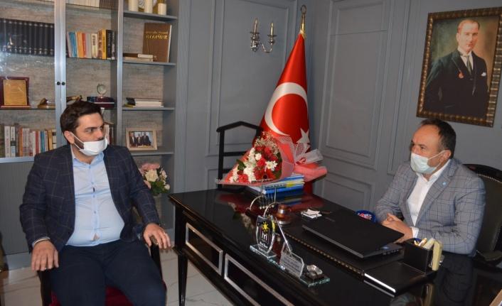 GELECEK PARTİSİ ALANYA TEŞKİLATI BUGÜN İYİLERİ ZİYARET ETTİ...