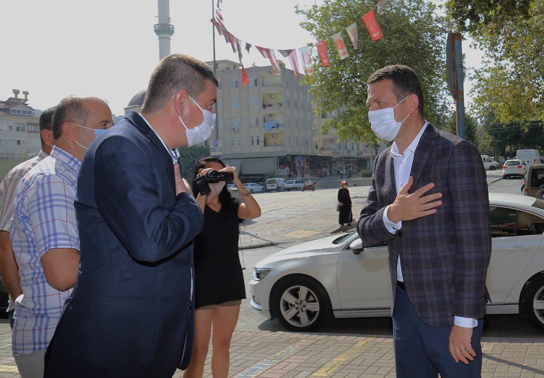 ALANYA KAYMAKAMI MHP İLÇE TEŞKİLATINI ZİYARET ETTİ...