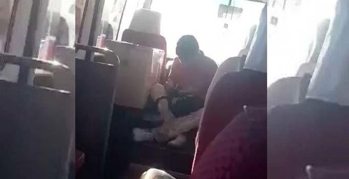 KKTC'de üstü kirli diye genç işçiyi koltuğa oturtmayan şoföre tepki...
