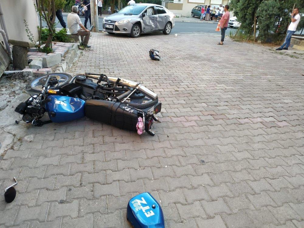 MANAVGAT TA MOTOR KAZASI:BİR AĞIR İKİ YARALI...