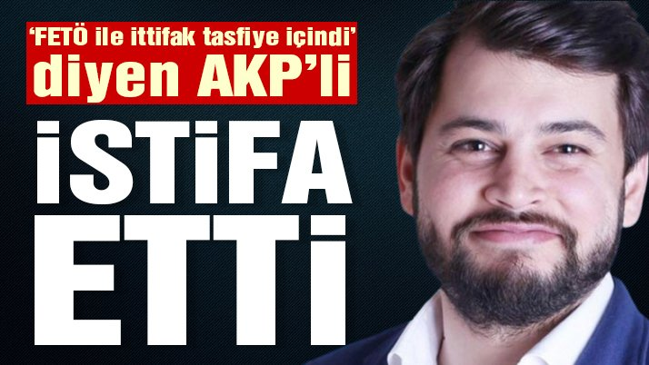AKP Medya Başkan Yardımcısı Emre Cemil Ayvalı istifa etti...