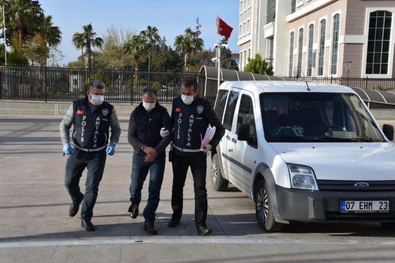POLİSE TÜKÜREN DENSİZ TUTUKLANDI...