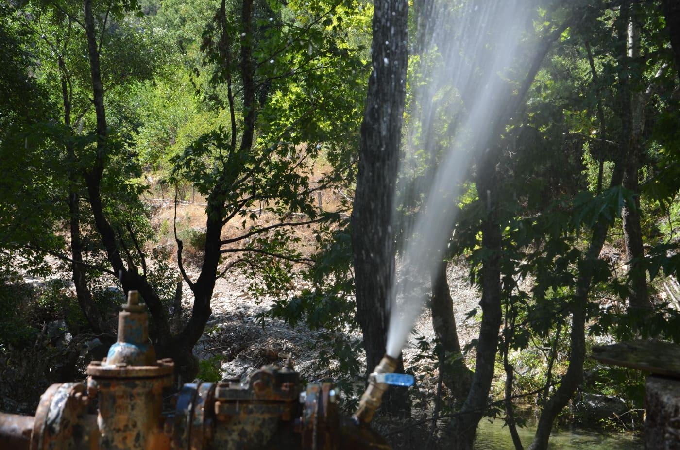 Alanya Gedevet Yaylası'nın su sorunu çözüldü...
