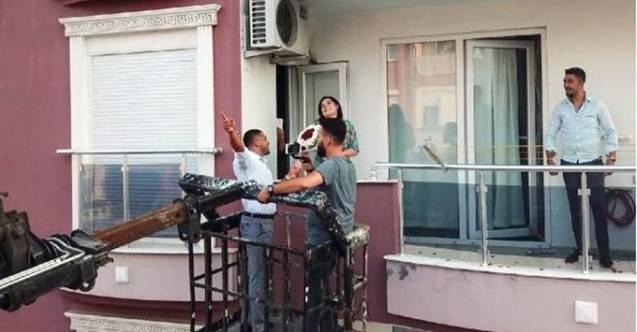 Antalya'da sıra dışı evlilik teklifi...