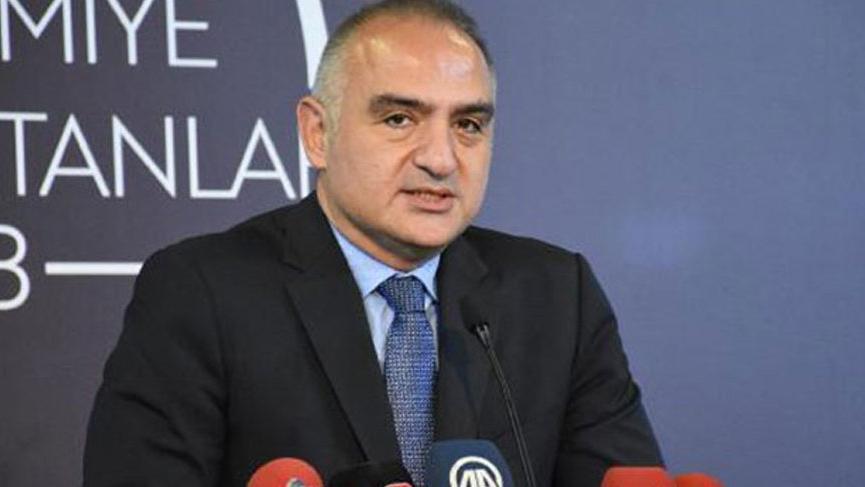 Kültür ve Turizm Bakanı Ersoy yapılan düzenlemeleri paylaştı...