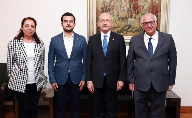 Meclis üyesi Zavlak Kılıçdaroğlu ile buluştu...