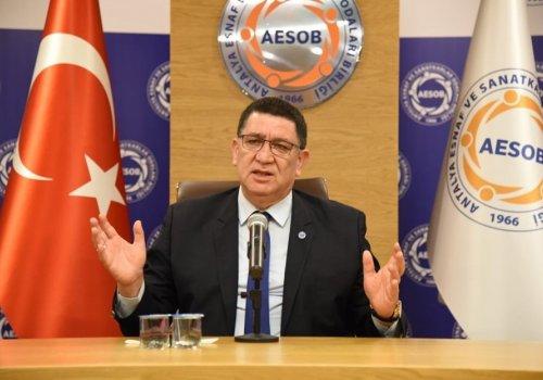 """AESOB Başkanı Adlıhan Dere, """"Esnafımızın Talepleri Dikkate Alınmalı""""..."""