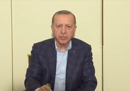 Cumhurbaşkanı Erdoğan: Devletimiz tüm kurumlarıyla görevinin başında...