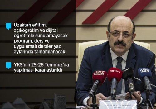 YKS- Yükseköğretim Kurumları Sınavı Ertelendi...