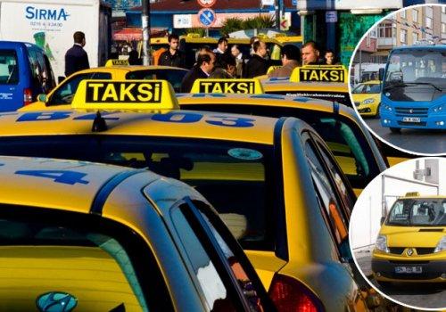 İstanbul'da taksi, minibüs ve dolmuş ücretlerine zam...