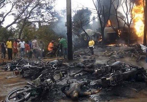 Tanzanya'da yakıt tankeri patladı: 54 ölü...