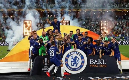 UEFA Avrupa Ligi'nde şampiyon Chelsea oldu...